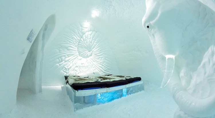 Ice Hotel Scandinavie