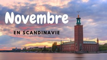 Partir Novembre Scandinavie