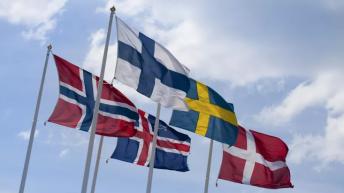 Pays Scandinaves Drapeaux