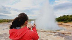 Haukadalur Geyser Islande