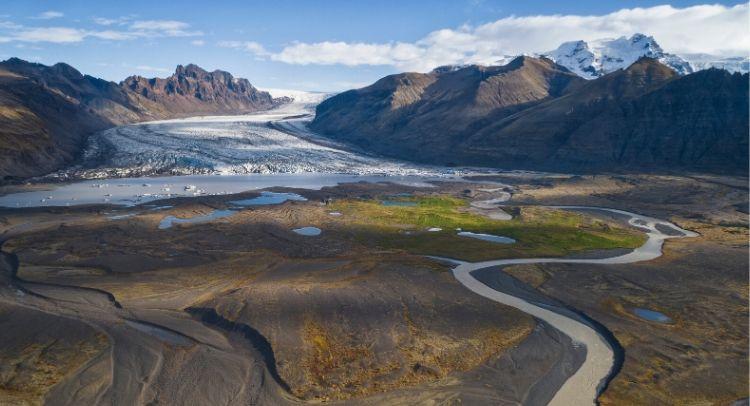 Vatnajokull Parc National Islande