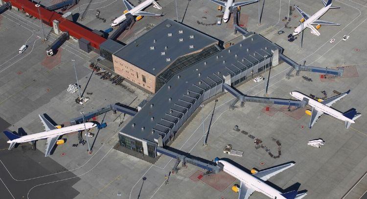 Aeroport Keflavik Islande